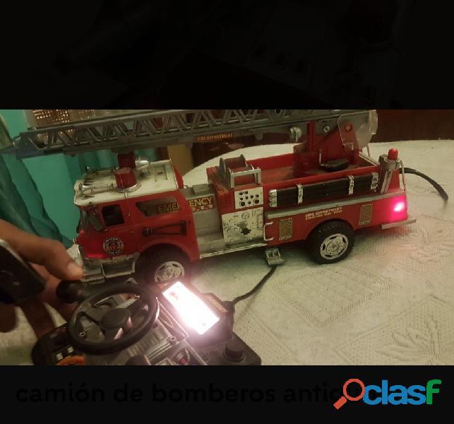 Camion de bomberos antiguos