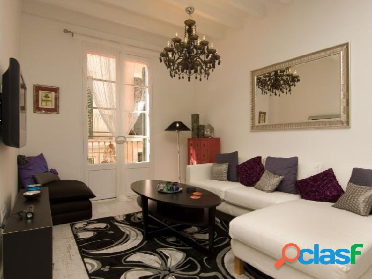 Mallorca next properties - se alquila próximo plaza cort apartamento de 3 dormitorios totalmente equipado.