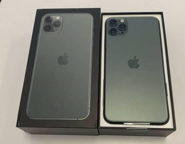 Apple iphone 11 pro 64gb= $600 y iphone 11 pro max 64gb