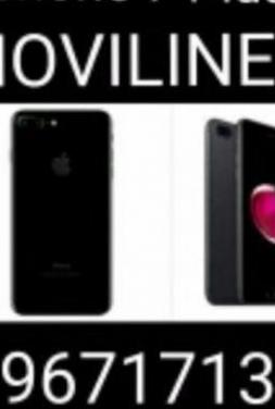 I phone 7 plus como nuevos garantia apple 32g-...