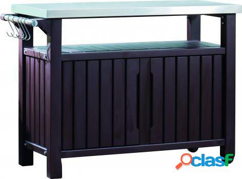 Keter bbq whole steel top