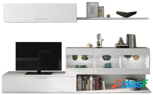 Wellindal mueble salon tv reversible aral vetro