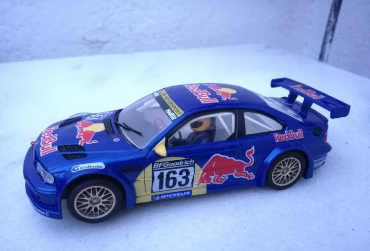 Bmw m3 red bull ninco tipo scalextric