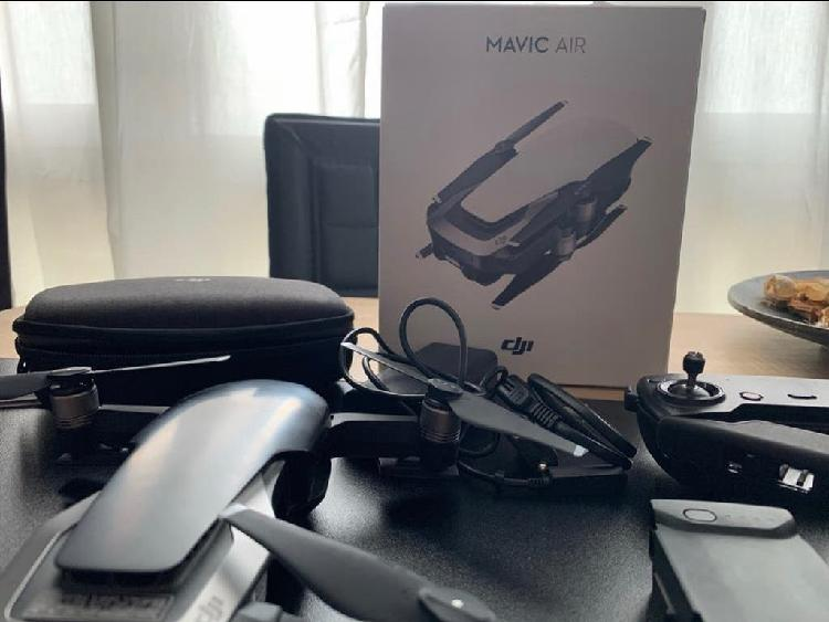 Drone dji mavic air black con 2 baterias