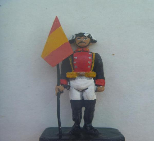 Guardia civil: figura de plomo de guardia abanderado