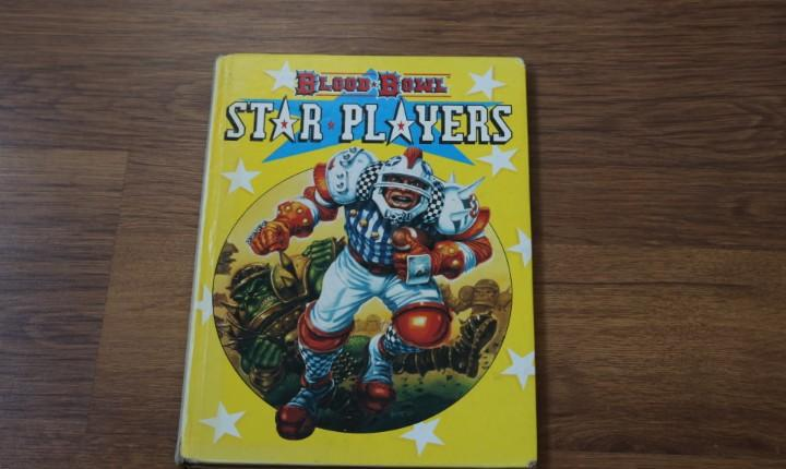 Star players libro suplemento juego blood bowl 2a edición