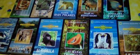 Vídeos vhs national geographic animales