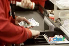 Se requieren cajeros,reponedores,dependientes,mozos en supermercado