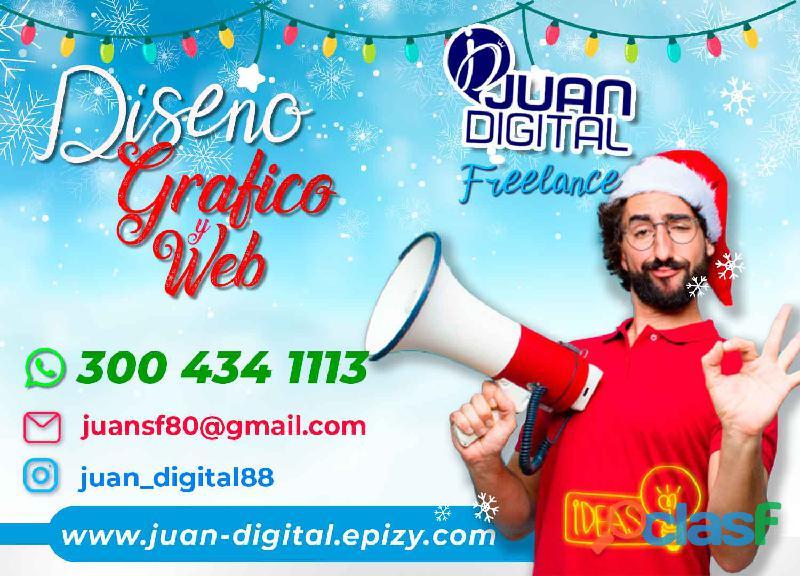 Diseñador gráfico y web freelance // diseño // web // publicidad //redes sociales