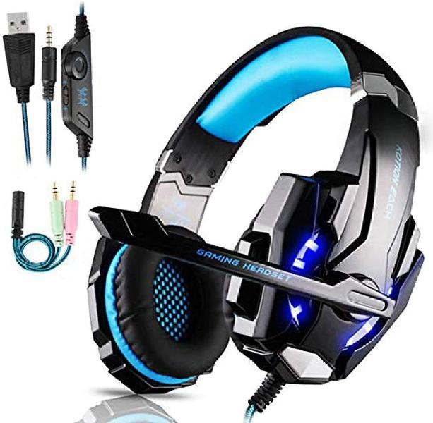 Auriculares gaming ps4 casco gaming de mac estéreo