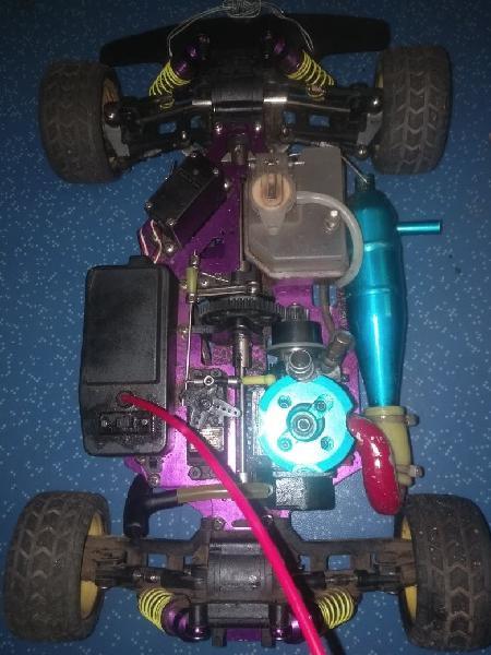 Coche gasolina radiocontrol ( coche rc nitro