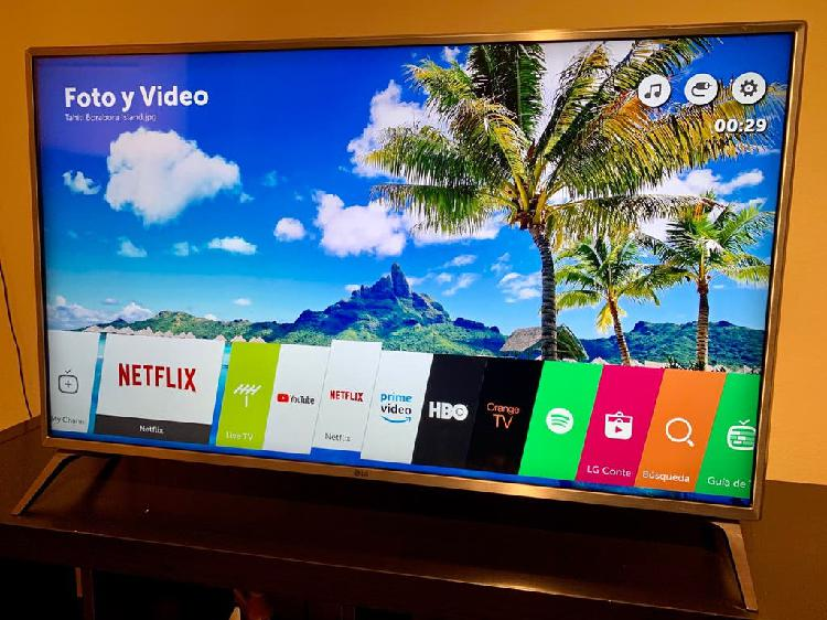"""Tv lg 4k ultra hd 43"""" (impecable)"""