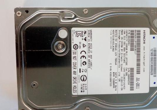 Disco duro 3. 5 sata hitachi 160gb