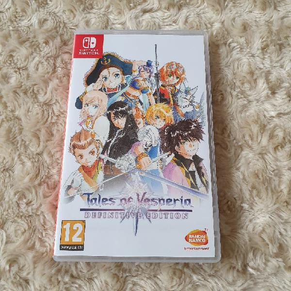 Juego tales of vesperia definitive edition switch