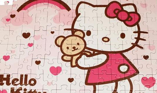 Puzzle hello kitty 100 piezas