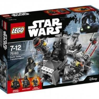 Lego star wars 75183: darth vader transformation