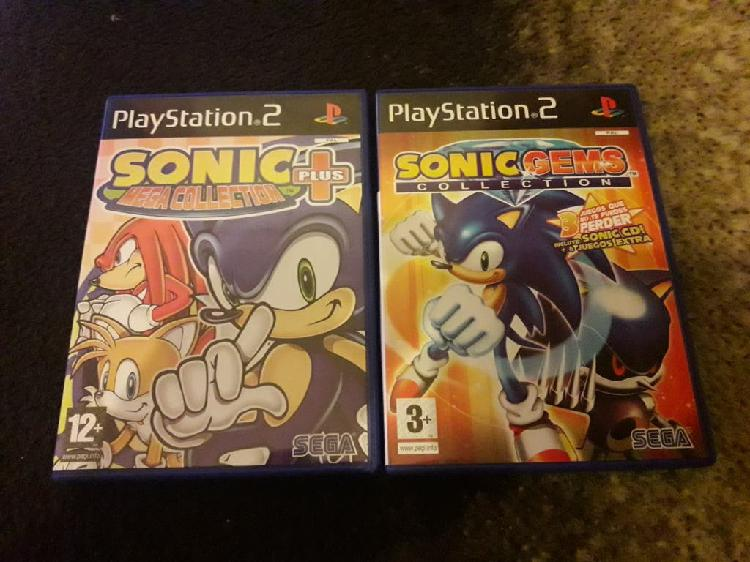 Pack sonic coleccion ps2
