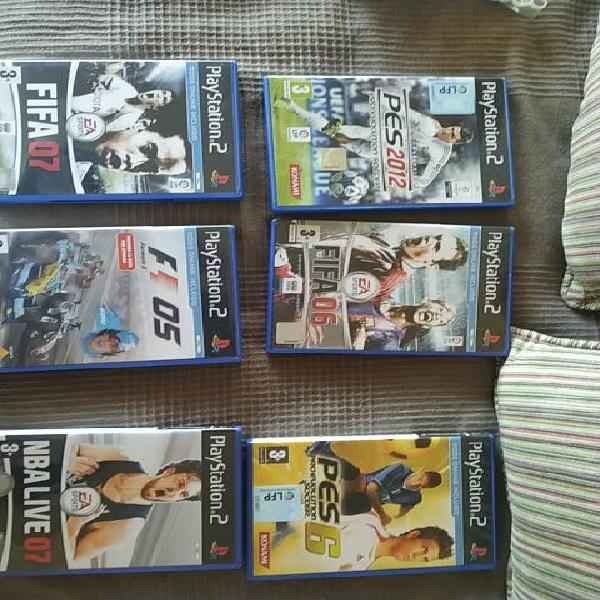 Pack 6 juegos play station 2
