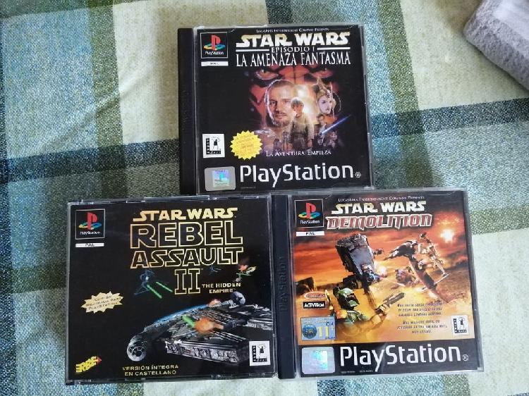 Saga start wars pal españa completo ps1 psx psone