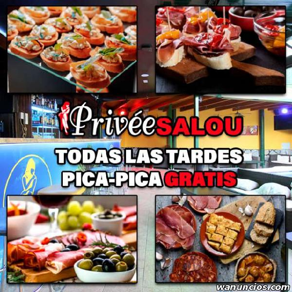 PICA PICA GRATIS EN STRIP CLUB PRIVEE SHOWGIRLS SALOU COSTA