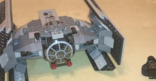 Lego 8017 star wars darth vader tie fighter