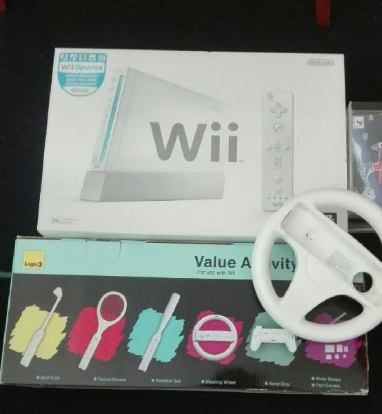 Wii blanca impecable