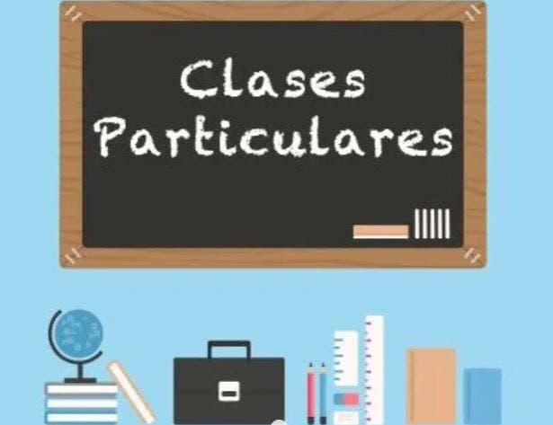 Clases particulares // classes particulars