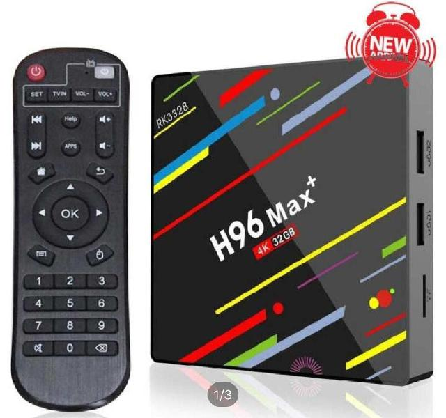 Tv box h96 - android 9.0- 64gb