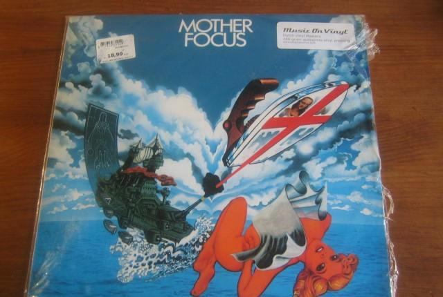 Mother focus * rara edición music on vinyl 180 gramos
