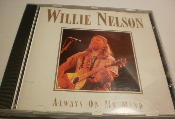 Cd willie nelson. always on my mind. recorded live uk 1995