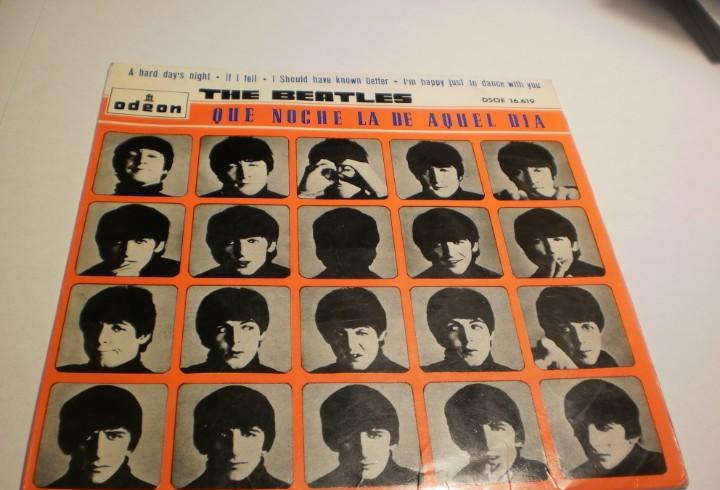 The beatles. a hard day's night. if i fell. i should have