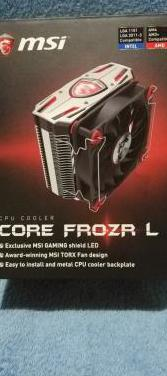 Disipador cpu msi core frozr l