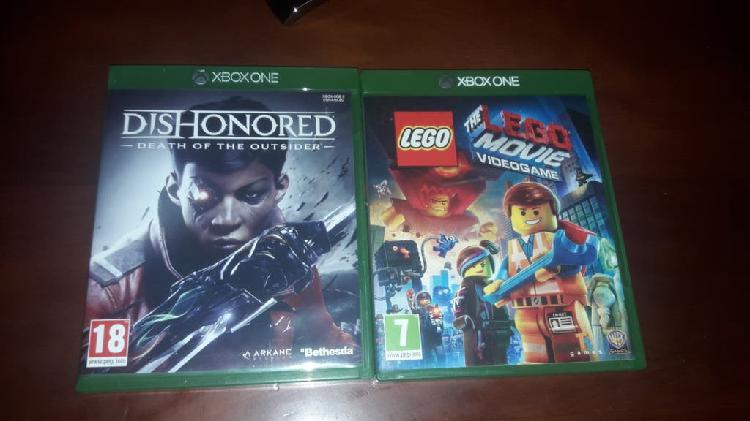 Pack juegos xbox one