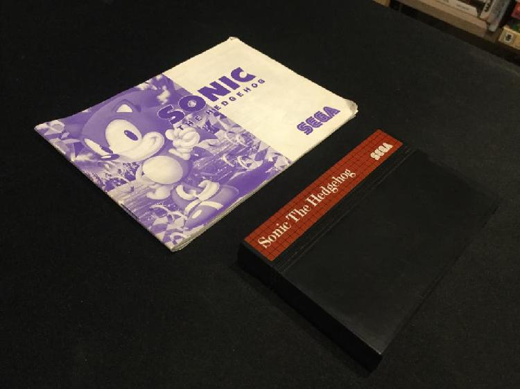 Sonic the hedgehog sega master system sms pal