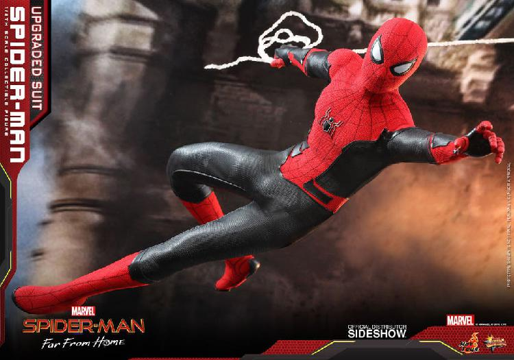 Spiderman upgrated suit far from home hot toys 1/6