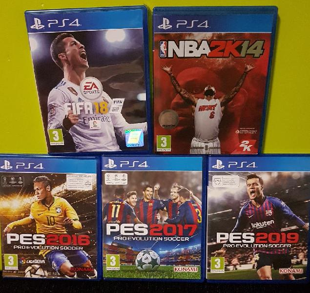 Venta o intercambio ps4