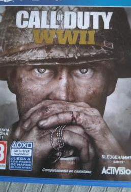 Juego calle of duty wwii