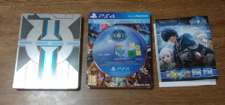 Juego star ocean integrity and faithlessness ps4