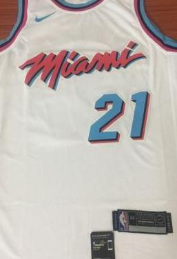 Camiseta miami heat whiteside 21 white