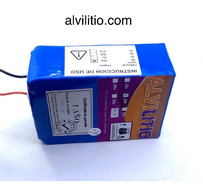 Bateria litio 24v 15ah