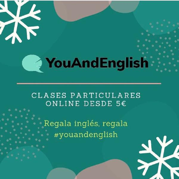 Clases particulares inglés 5 euros
