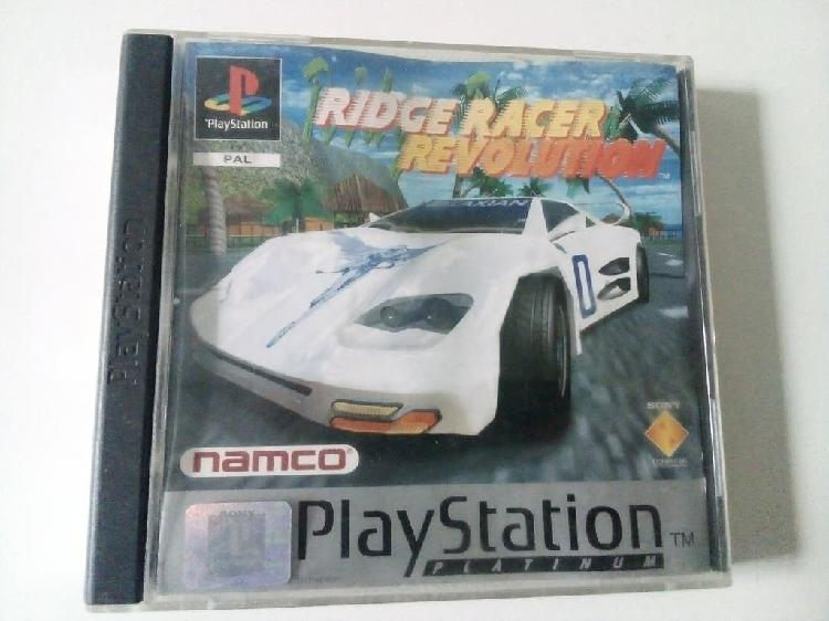 Juego ridge racer revolution ps1