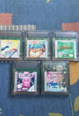 Juegos gameboy color