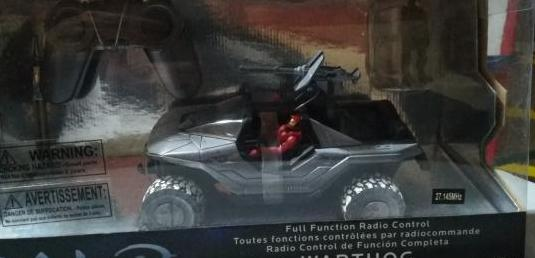 Coche halo the authentic r/c collection warthog