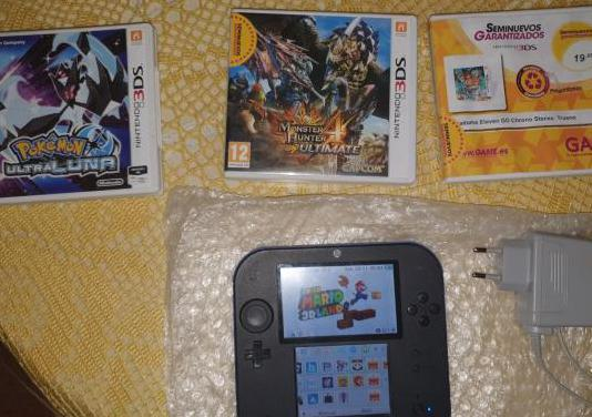 Nintendo 2ds/3ds completa lote