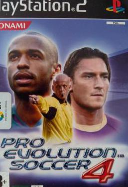 Pro evolution soccer 4 (play station 2)