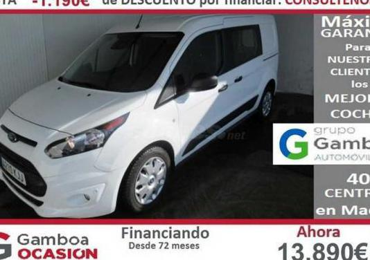 Ford transit connect kombi 1.5 tdci 88kw ss trend