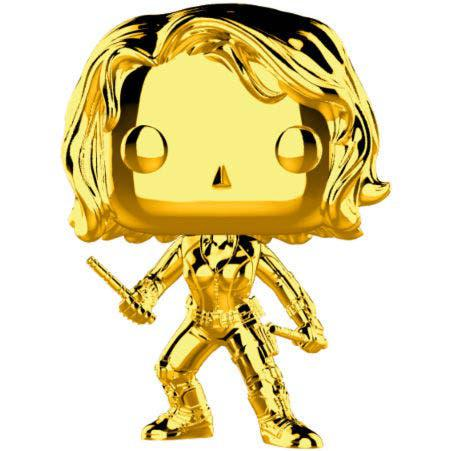 Funko pop! marvel black widow gold chrome