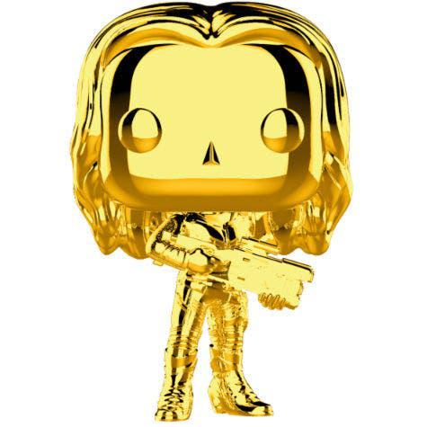 Funko pop! marvel studios 10 gamora gold chrome