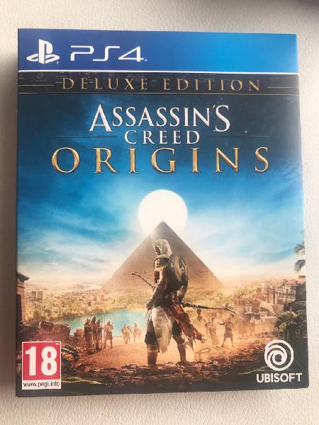 Assasins creed origins ps4 deluxe edition